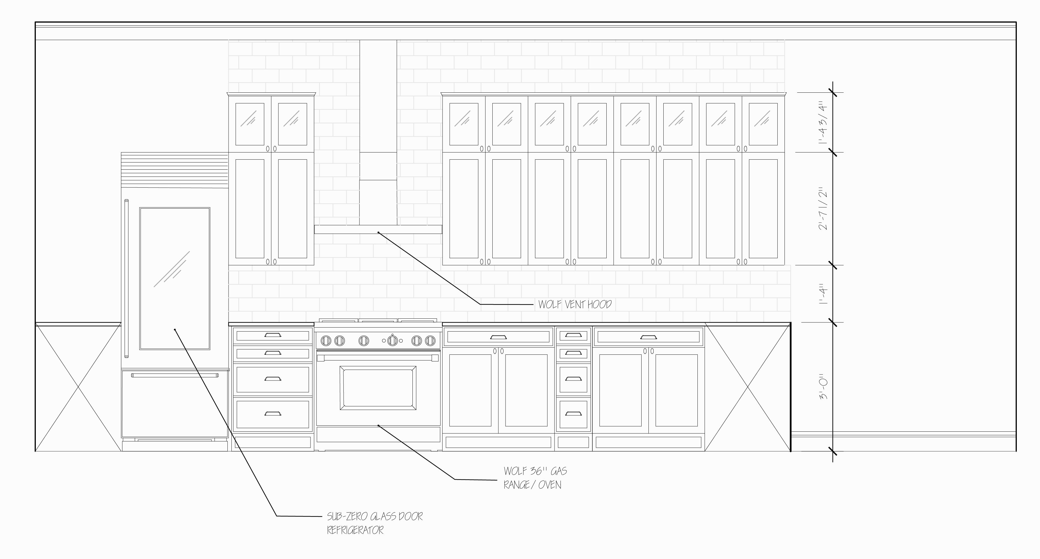 D Elevation With Plan : Autocad blocks kitchen elevation joy studio design