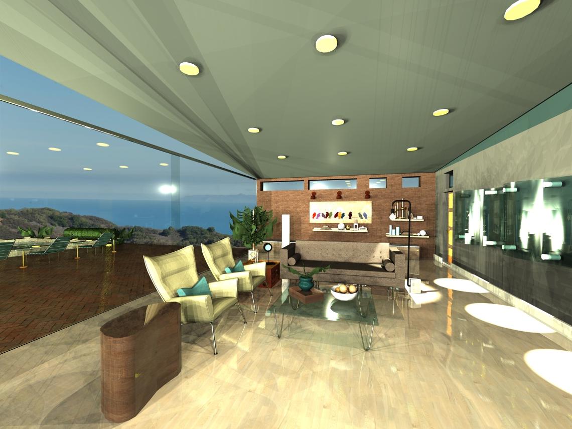 D Living digital renderings genzen design