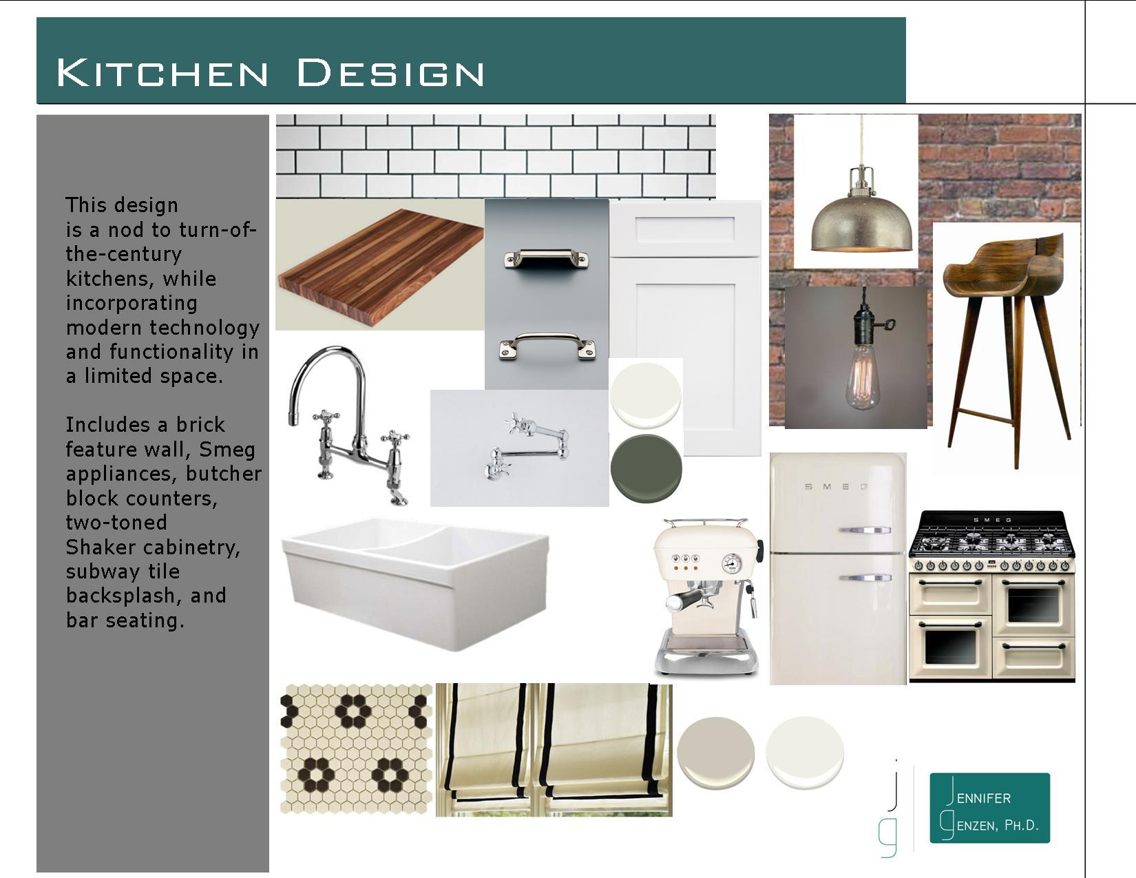 Materials Boards And Design Concepts Genzen Design